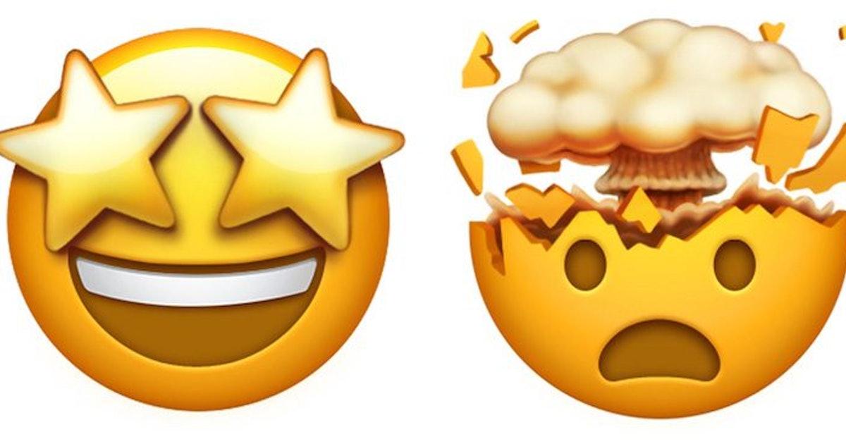 New Apple Mind Blown Emoji Has The Internet Excited.