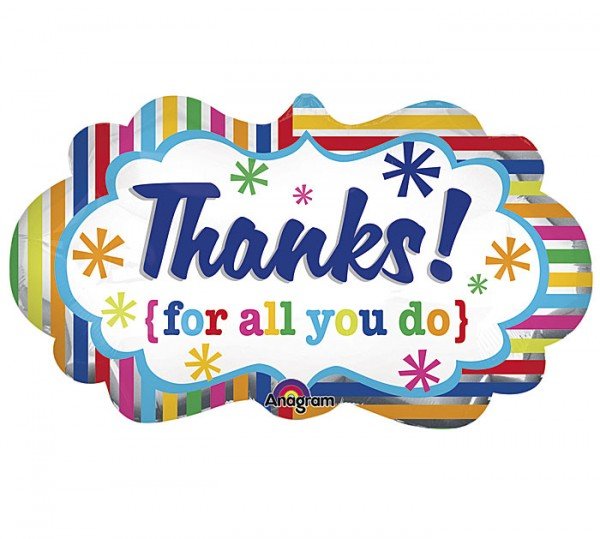Thank You For All You Do Clipart.
