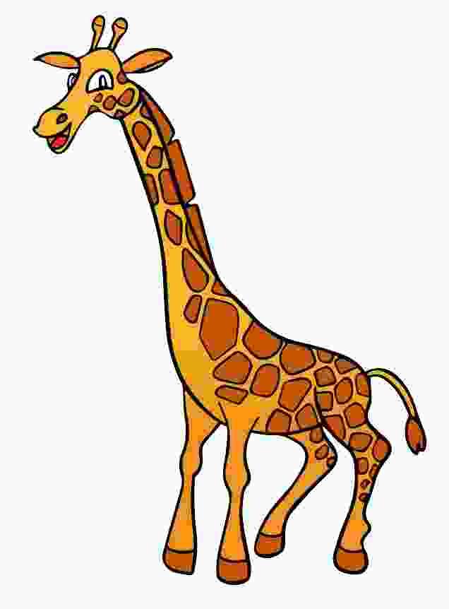 Cliparts Club: Clipart Giraffe Cartoon.