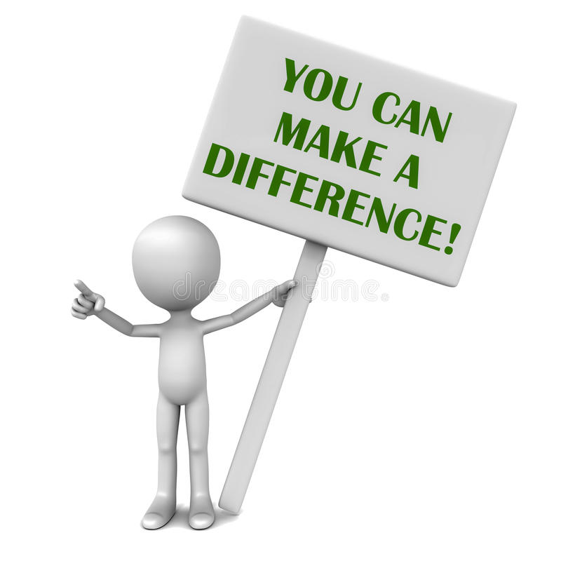 Make Difference Stock Illustrations.
