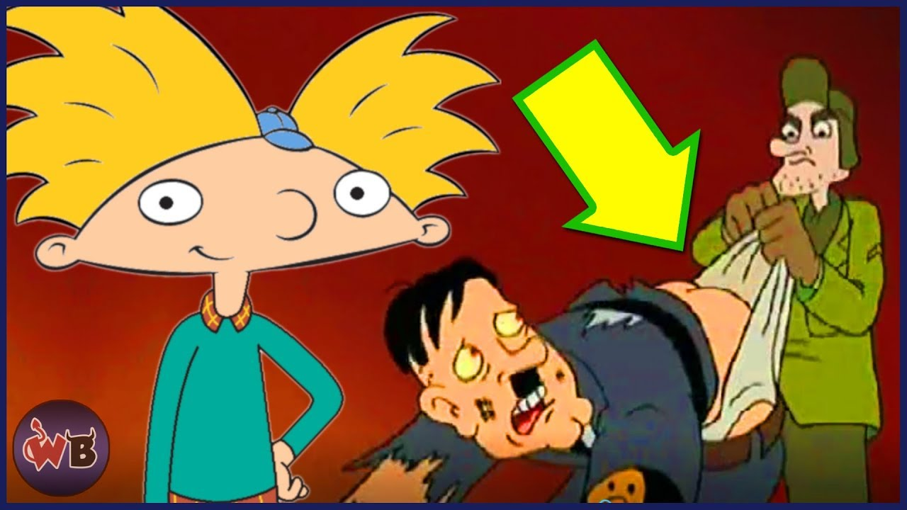Totally Messed Up Hey Arnold! Jokes You Missed.