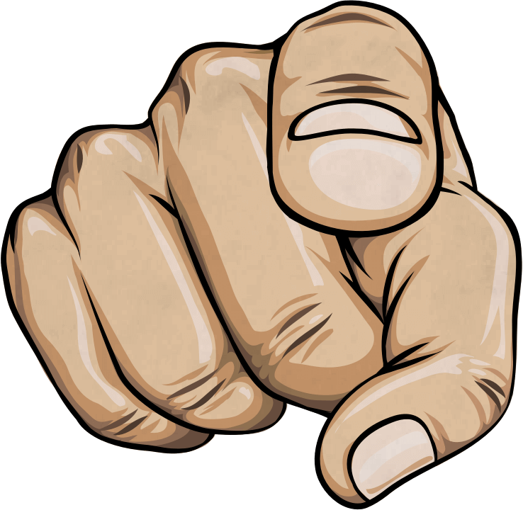 Finger Pointing At You PNG Transparent Finger Pointing At You.PNG.