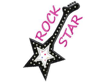 194 Rockstar free clipart.