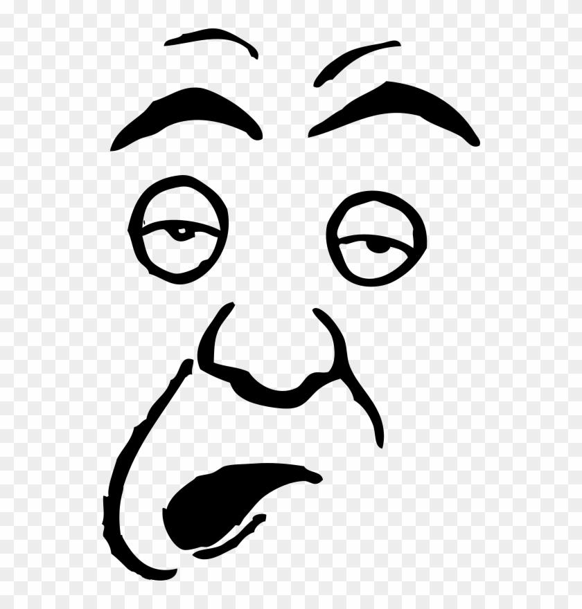 Dumb Person Clip Art Faces.