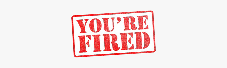 You Re Fired, Cliparts & Cartoons.