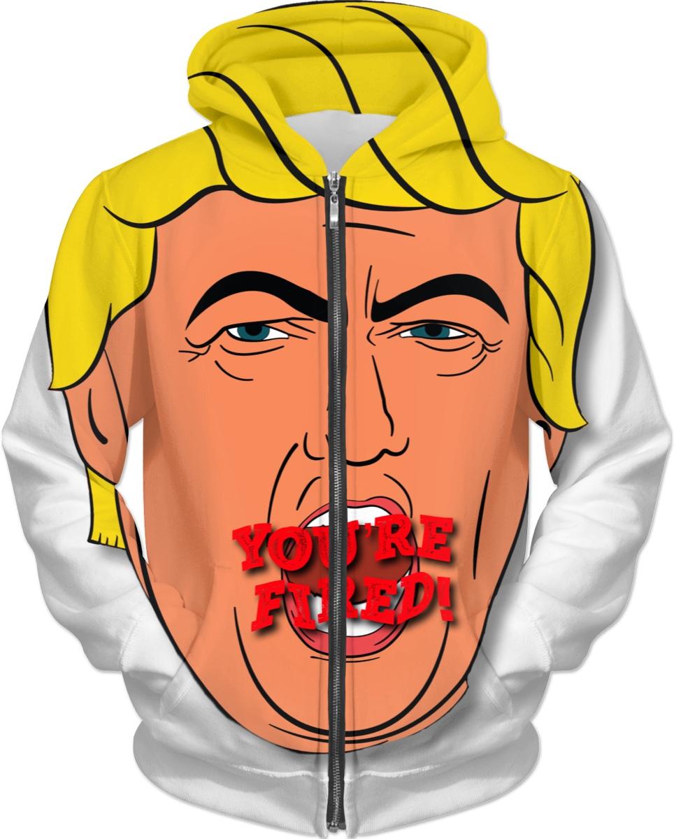 You're Fired! Donald Trump Cartoon Design.