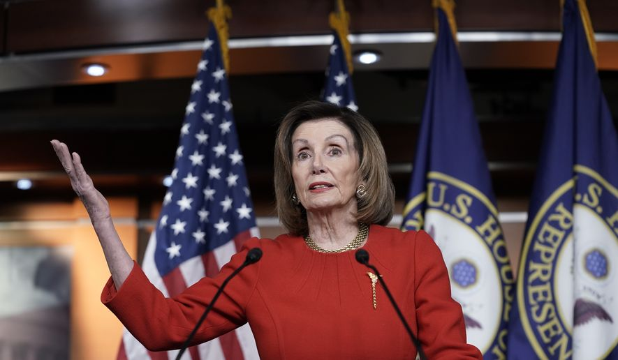 Nancy Pelosi offers no timeline on sending impeachment to.