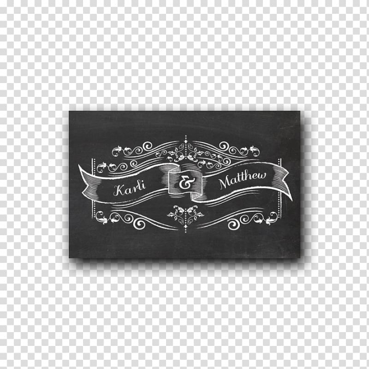 Ribbon Blackboard Wedding invitation Embellishment Chalk.