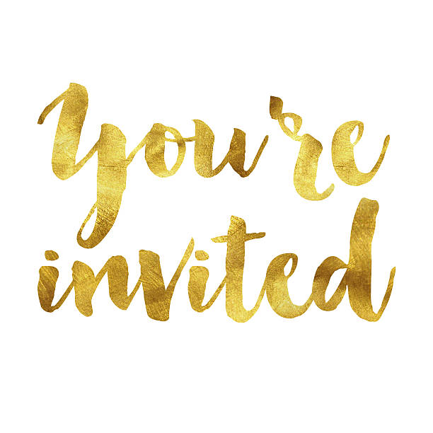 You\'re Invited Banner Clipart.