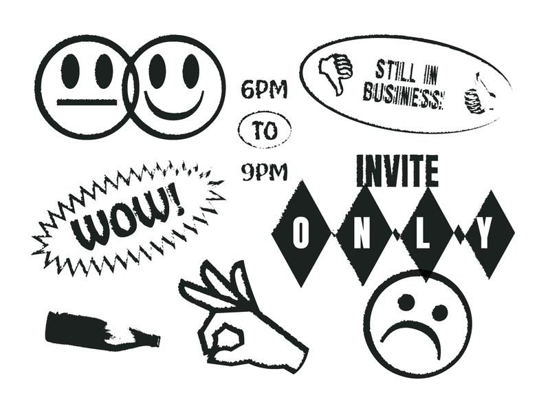 You\'re not invited by Ryan Pickard on Dribbble.