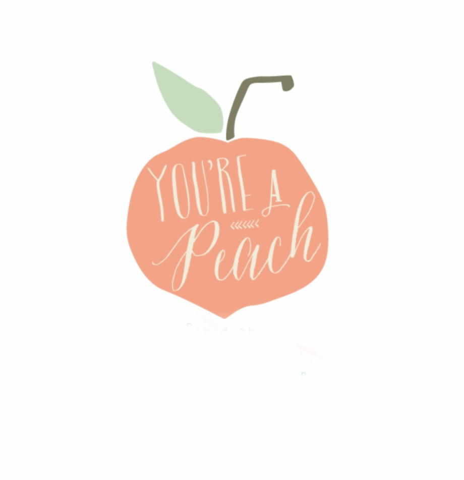 Peach Clipart Cute.