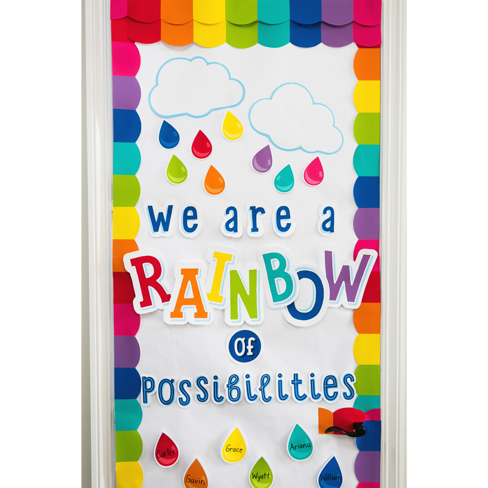 Hello Sunshine We Are a Rainbow of Possibilities Bulletin.