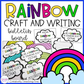 Rainbow Writing Craft.