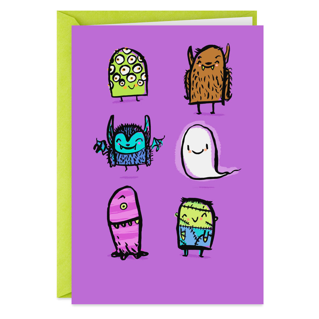 You\'re So Cute, It\'s Scary Halloween Card.