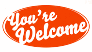 You Re Welcome Free Clipart.