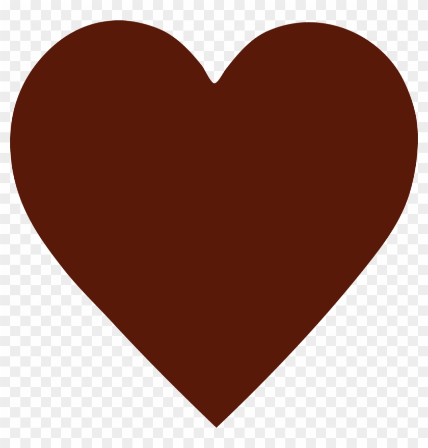 Brown Heart Png.