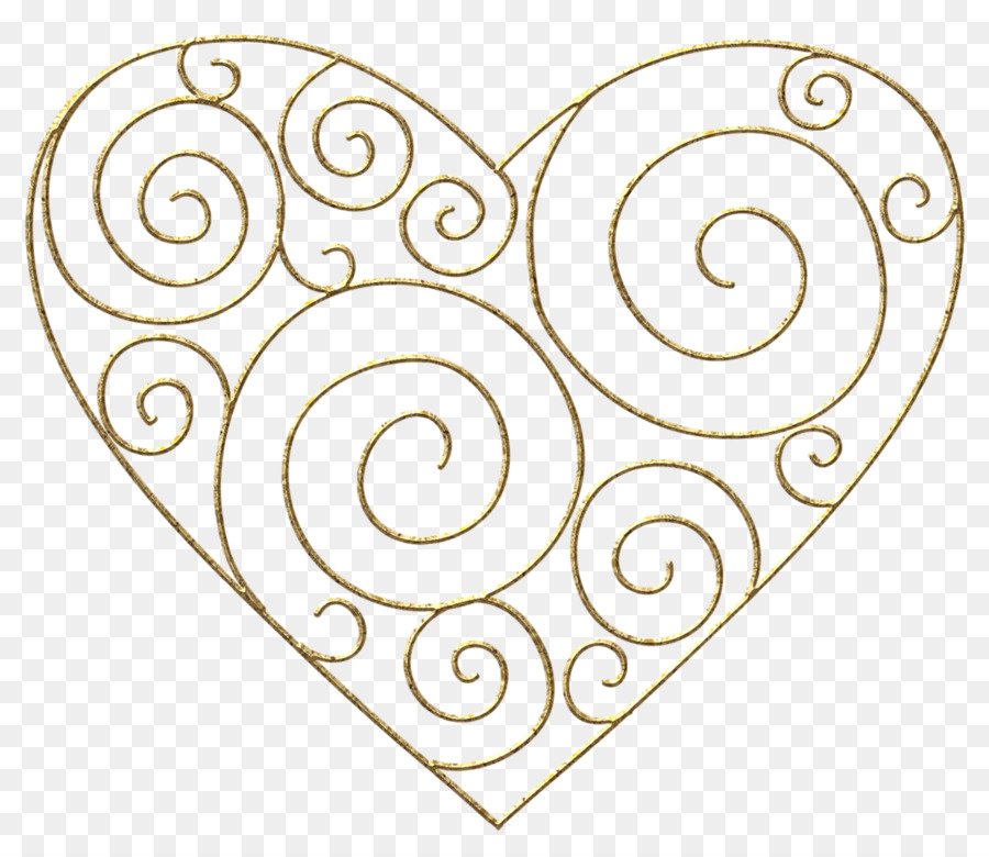 Right border of heart Clip art.