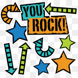 You Rock PNG and You Rock Transparent Clipart Free Download..