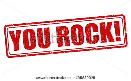 You Rock Stock Photos, Royalty.