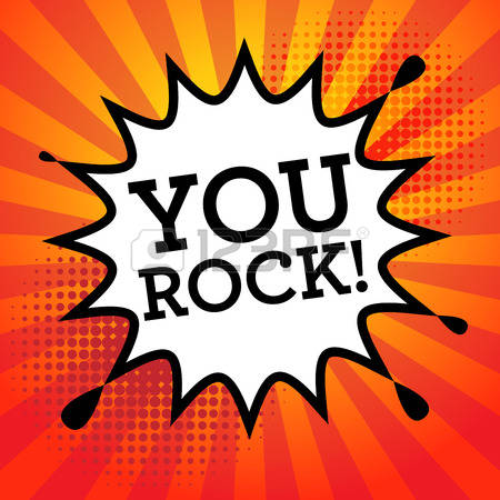 599 You Rock Stock Vector Illustration And Royalty Free You Rock Clipart.