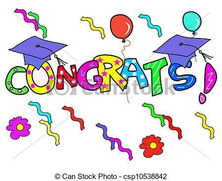 congratulations graduate clip art.