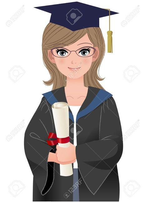 Graduating College Clipart.