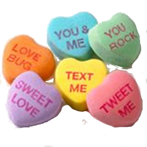 Candy hearts png, Candy hearts png Transparent FREE for.
