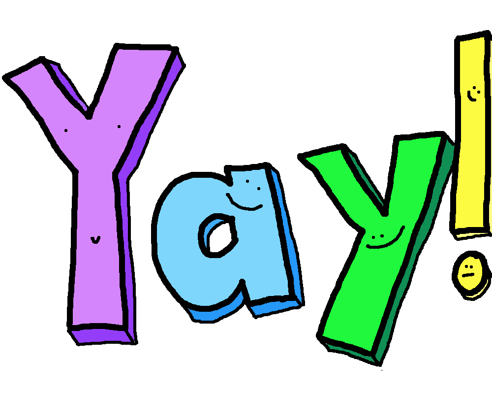 Yay clipart - Clipground
