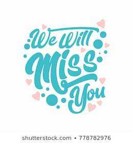 You will be missed clipart 3 » Clipart Portal.