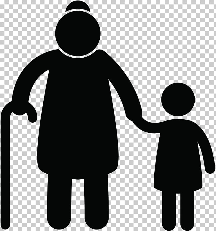 Family , young PNG clipart.