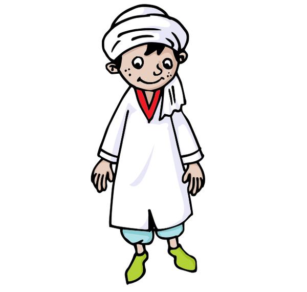 Algerian boy.