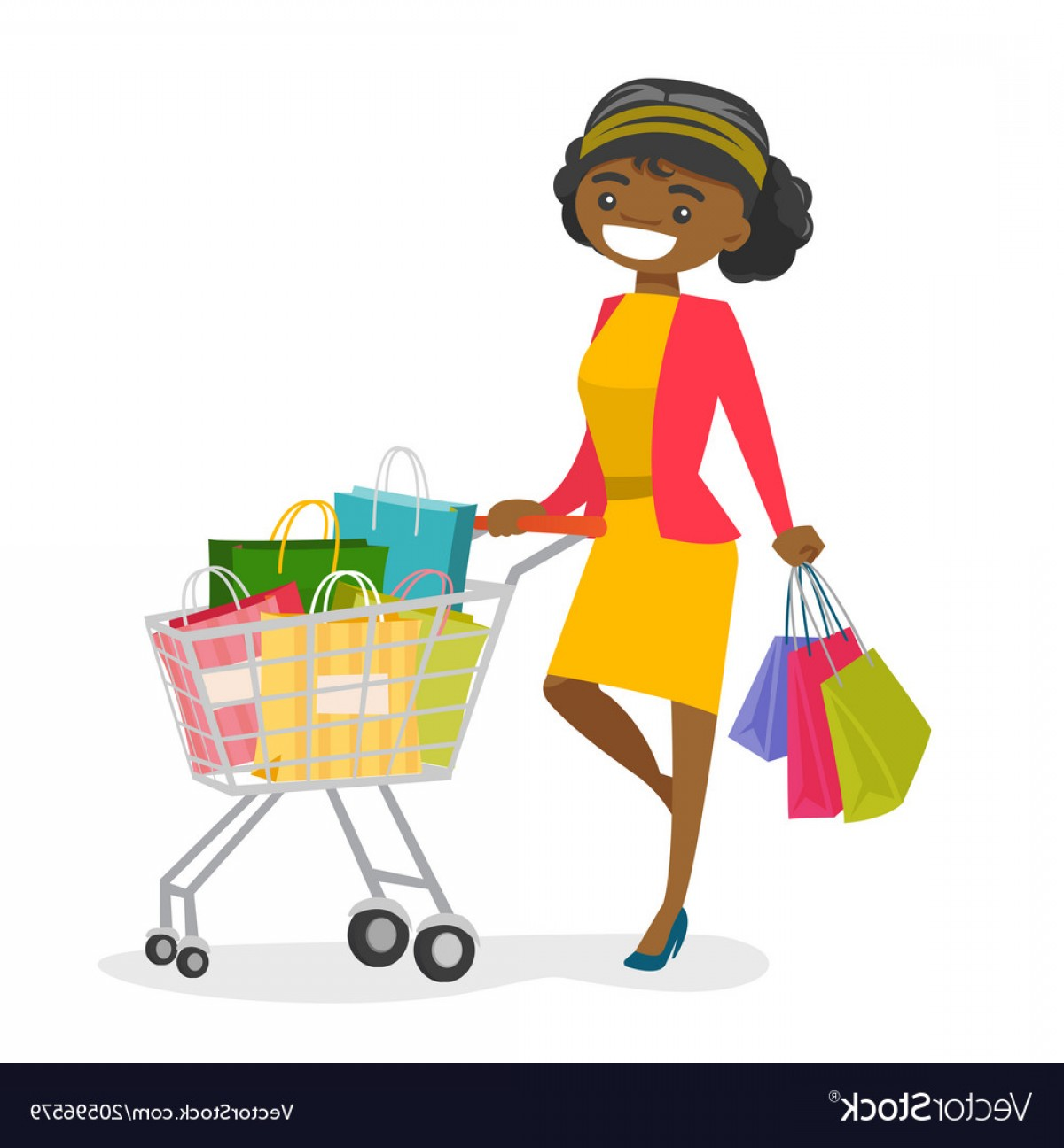 African American Woman Vector at Vectorified.com.
