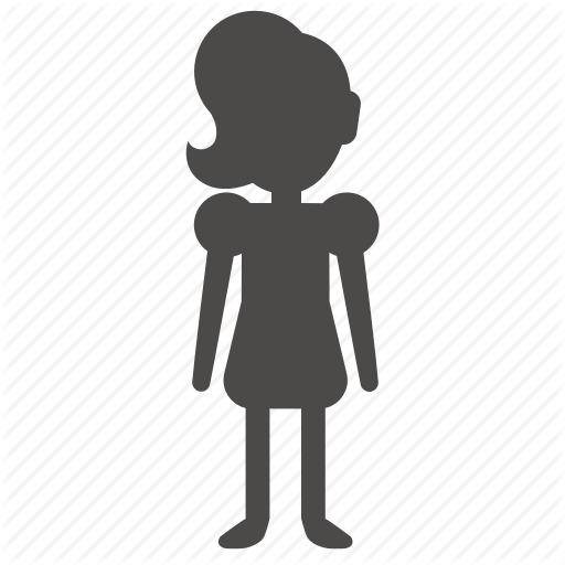 \'People front view in different ages, gender and weight, glyph styled\' by  Ksena Shu.