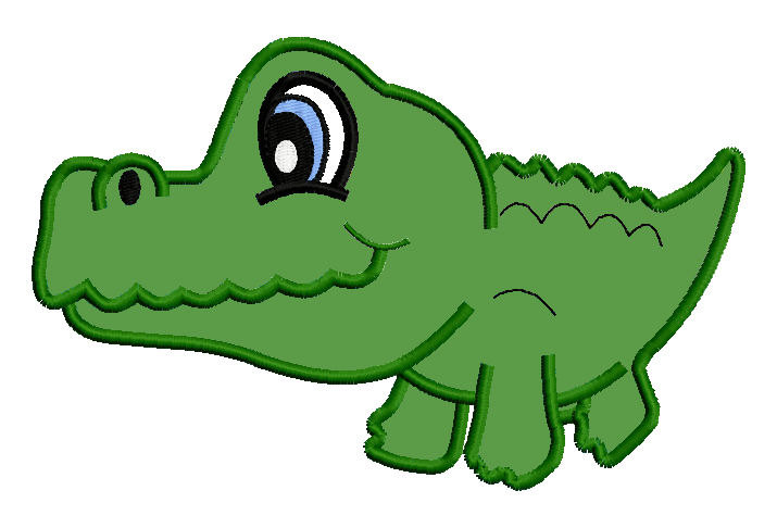 Young crocodile clipart Clipground