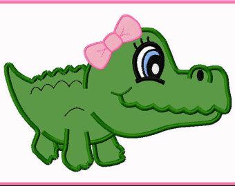 Clipart baby alligator.