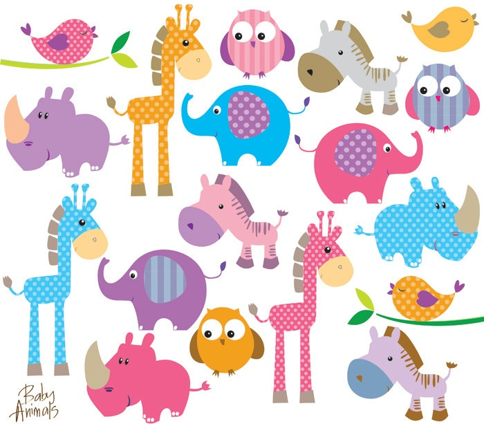 Young animals clipart 20 free Cliparts | Download images ...
