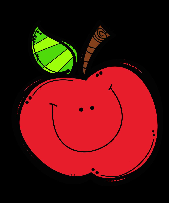 1 teacher apple clipart.