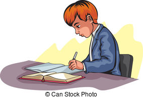 Author Writing Clipart.
