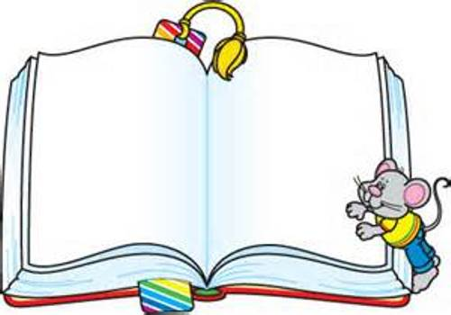 Authors Borders Clipart.