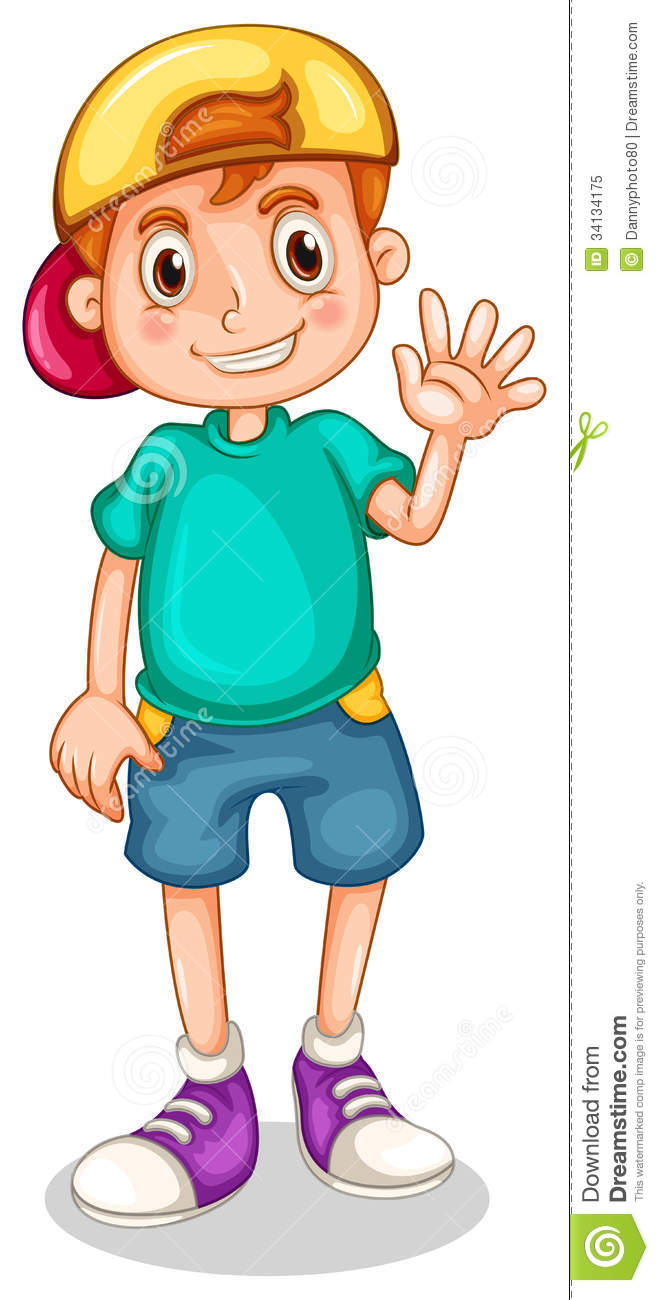 young boy clipart