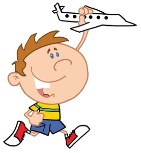 Young Boy Clipart.