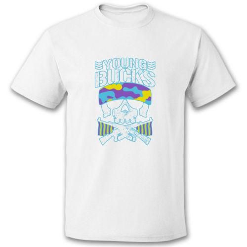 Bullet Club Young Bucks Logo T Shirt In All Color Cotton T Shirts Fitted  Shirts From Ansmile, $12.06.