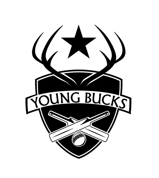 Entry #4 by logandesigner for Young Bucks Cricket Team Logo.