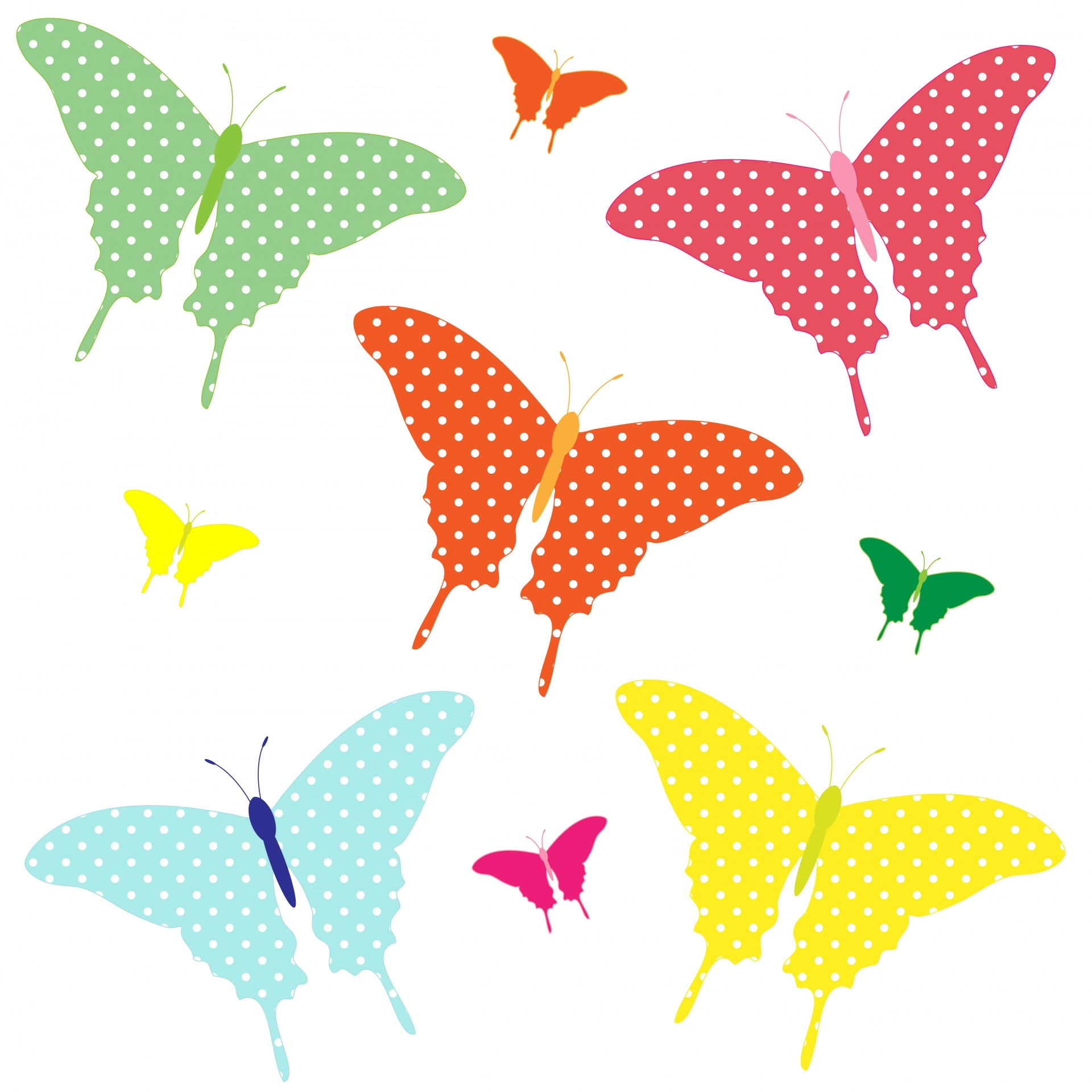 Clipart Butterfly 4 Free Stock Photo.