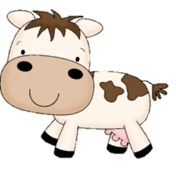cute cow clipart free png - Clipground