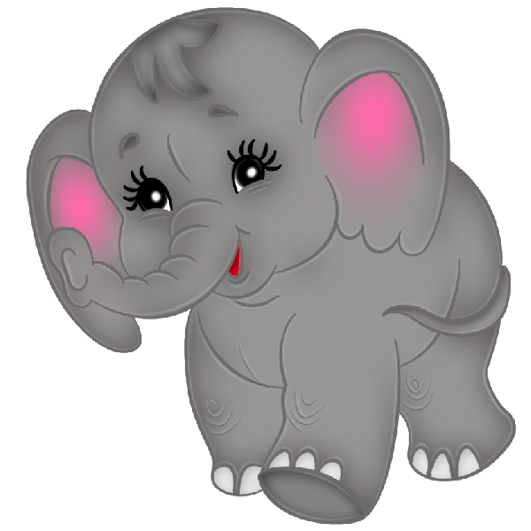 Baby elephant elephant clipart baby shower 2.
