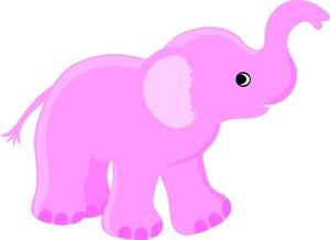 Elephant Clipart Image.