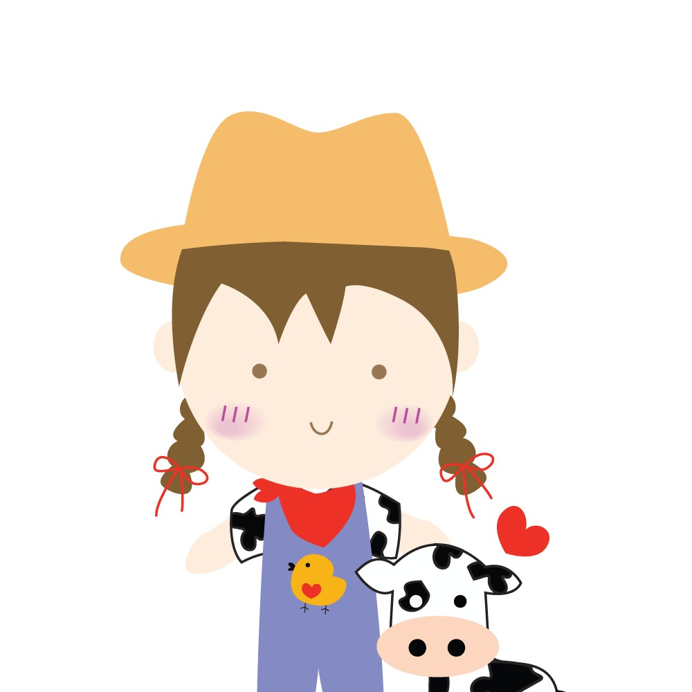 Female Farmer Clipart.