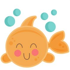Happy little girl fishing clipart.
