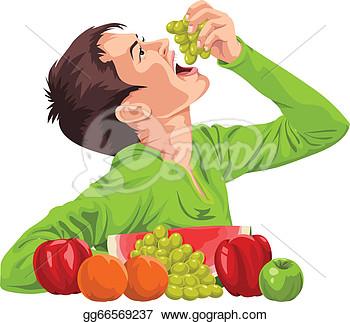 Eat fruit clipart.